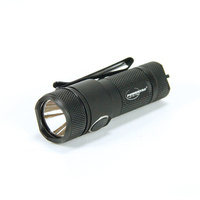 PowerTac E10R - 600 Lumen USB Rechargeable Flashlight