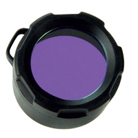 PowerTac Blue Filter Cover (fits M5/M6/E5/E5R/E9/E9R & Cadet)