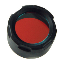 PowerTac Red Filter Cover (E5, E9, Cadet)