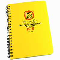 RITR-214 All-Weather Incident Command Notebook 4.75inx6.75in