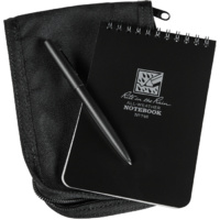 RITR-746B-KIT Tactical Notebook Kit Black Cover