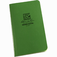 RITR-964 Tactical Memo Book Green 3.5inx6in